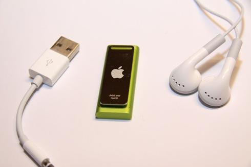 iPod Shuffle 3rd Generation Laser