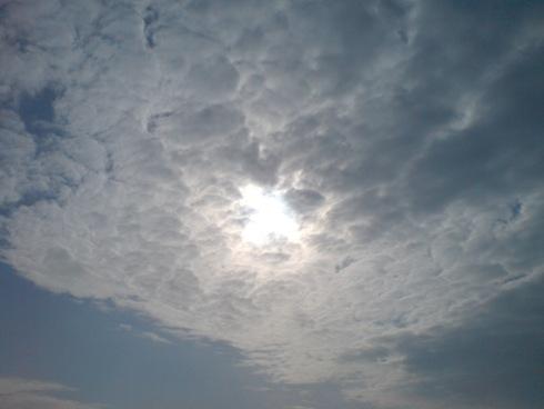 Sonne auf dem Weg nach Hamm