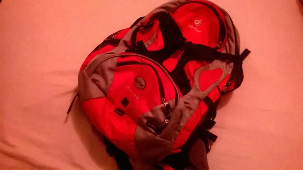 Packliste Radtour Rucksack